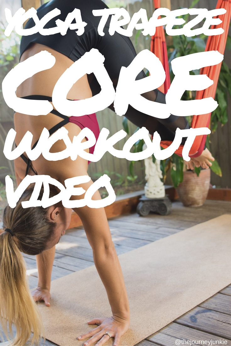 Yoga Trapeze: Core Workout Video - Pin now, get a trapeze now, work your core out now!