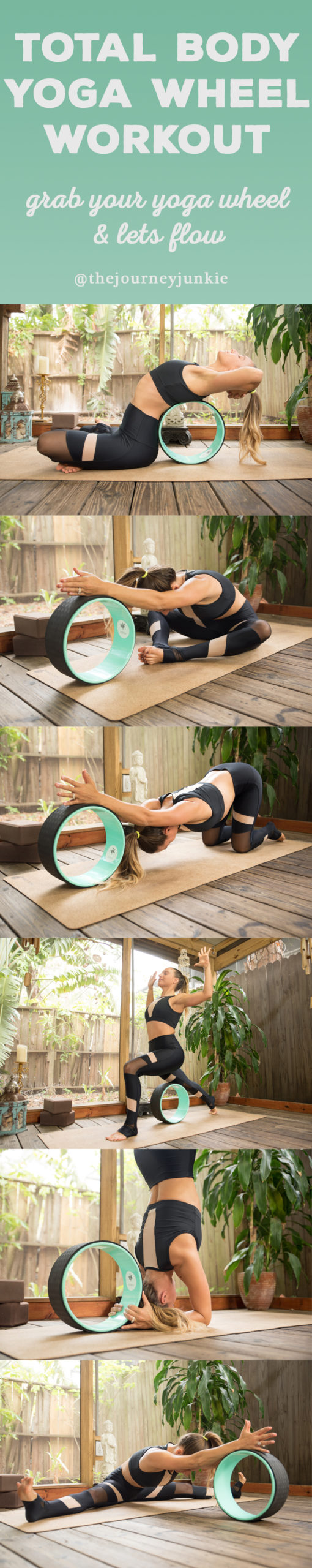 Yoga Wheel Flow: Total Body Workout - Pin now, treat yourself to a wheel now, and learn how to use your wheel alongside me for a total body workout!