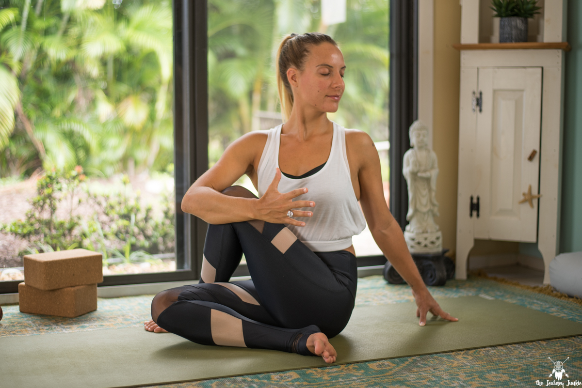 Yoga Video to Soothe + Strengthen Your Knee Pain - Pin now, get on your mat now to start feeling relief! Join me for a simple, yet so effective yoga practice to help combat the common complaint of knee pain!