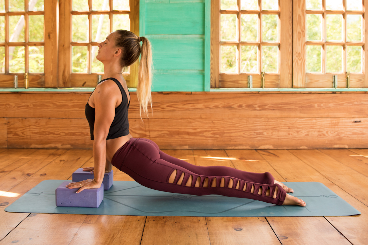 Grab Your Yoga Blocks: Vinyasa Yoga Practice for Strength and Support