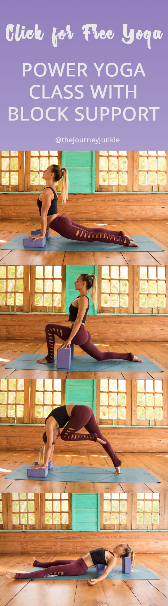 Grab Your Yoga Blocks: Vinyasa Yoga Practice for Strength and Support - Pin Now, Get on Your Yoga Mat Now!