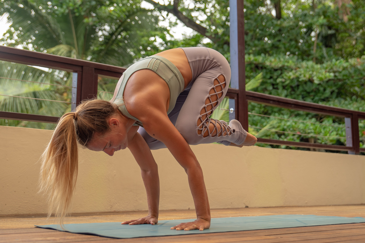 Arm Balance Yoga Class: Build up to Crow Pose & Flying Pigeon